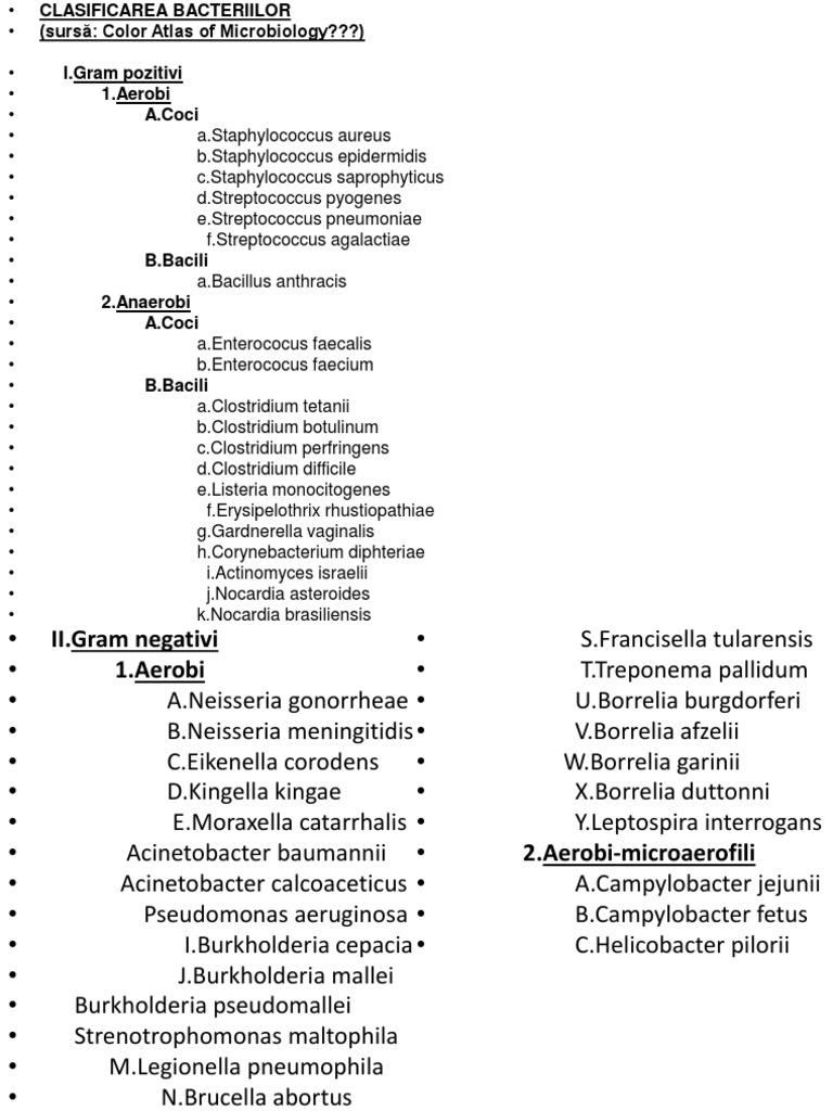 bacterii gram)