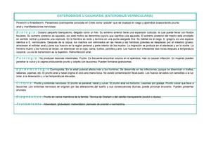 Enterobius vermicularis bruxismo, Cancer de pancreas localmente avanzado