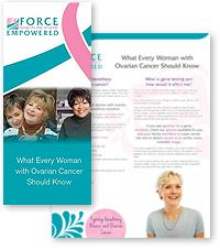 cancer genetic counseling brochure)