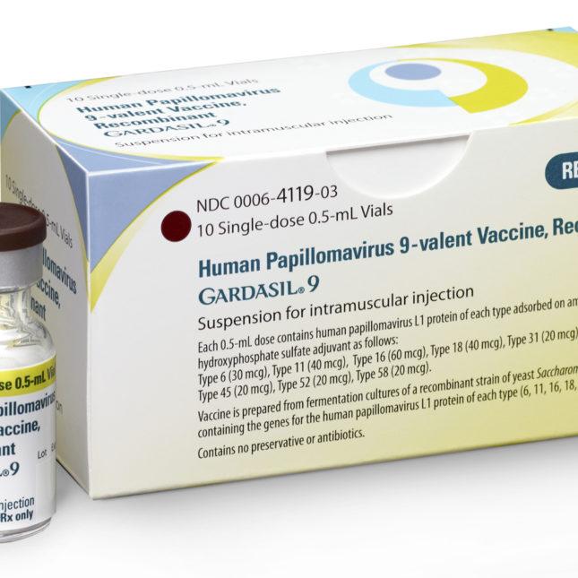 human papillomavirus vaccine for adults)