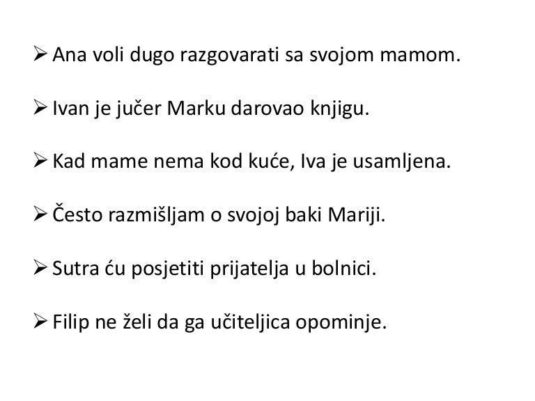hrvatski jezik padezi vjezbe
