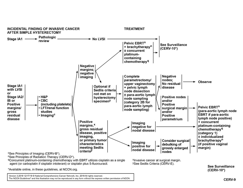 cancer endometrial nccn)