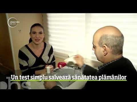 curățarea plămânilor de paraziți)