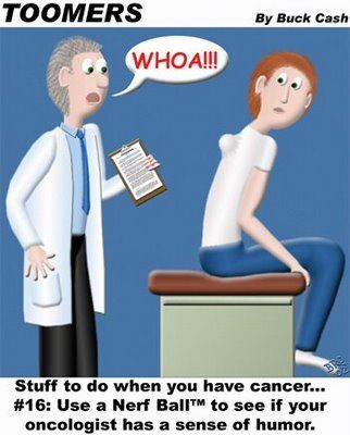 ovarian cancer jokes