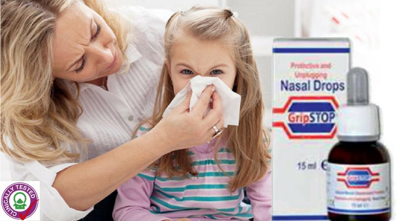 nasul la un copil