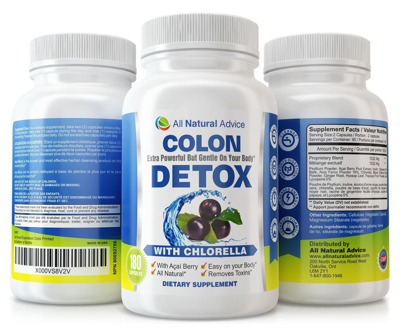 colon detox all natural advice
