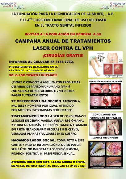 virus papiloma y displasia