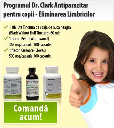 tratament pt limbrici la copii