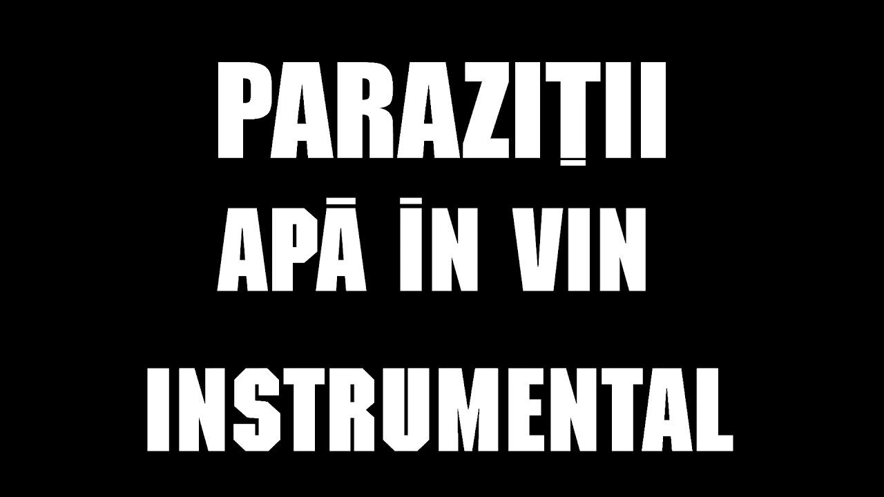 parazi ii apa in vin