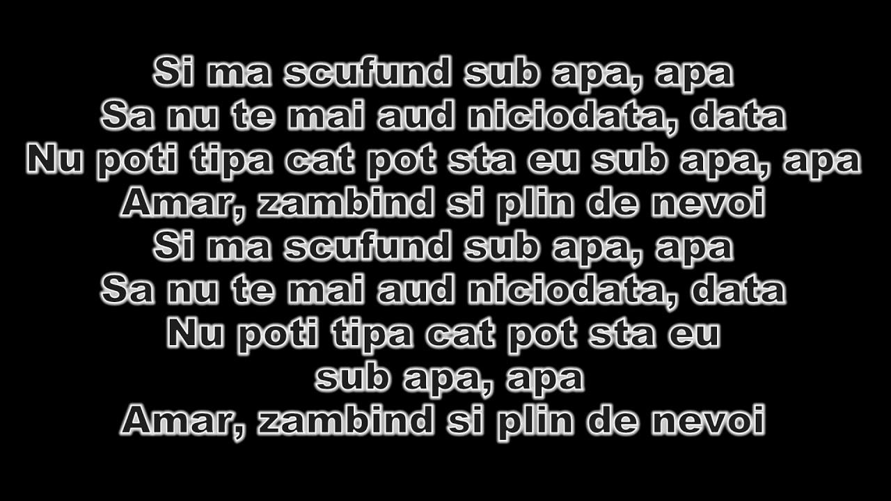 Paraziții lyrics
