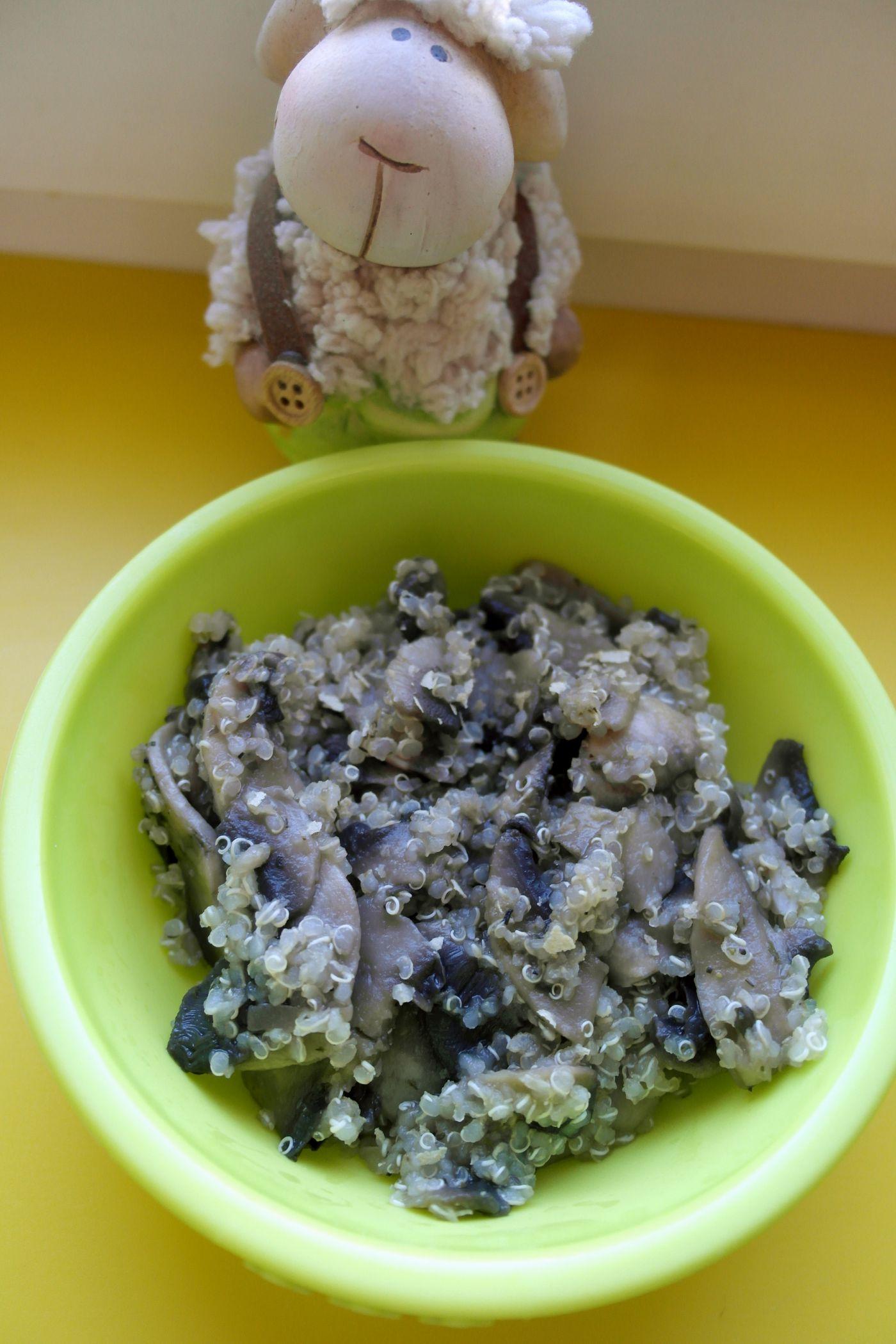 quinoa ciuperci)