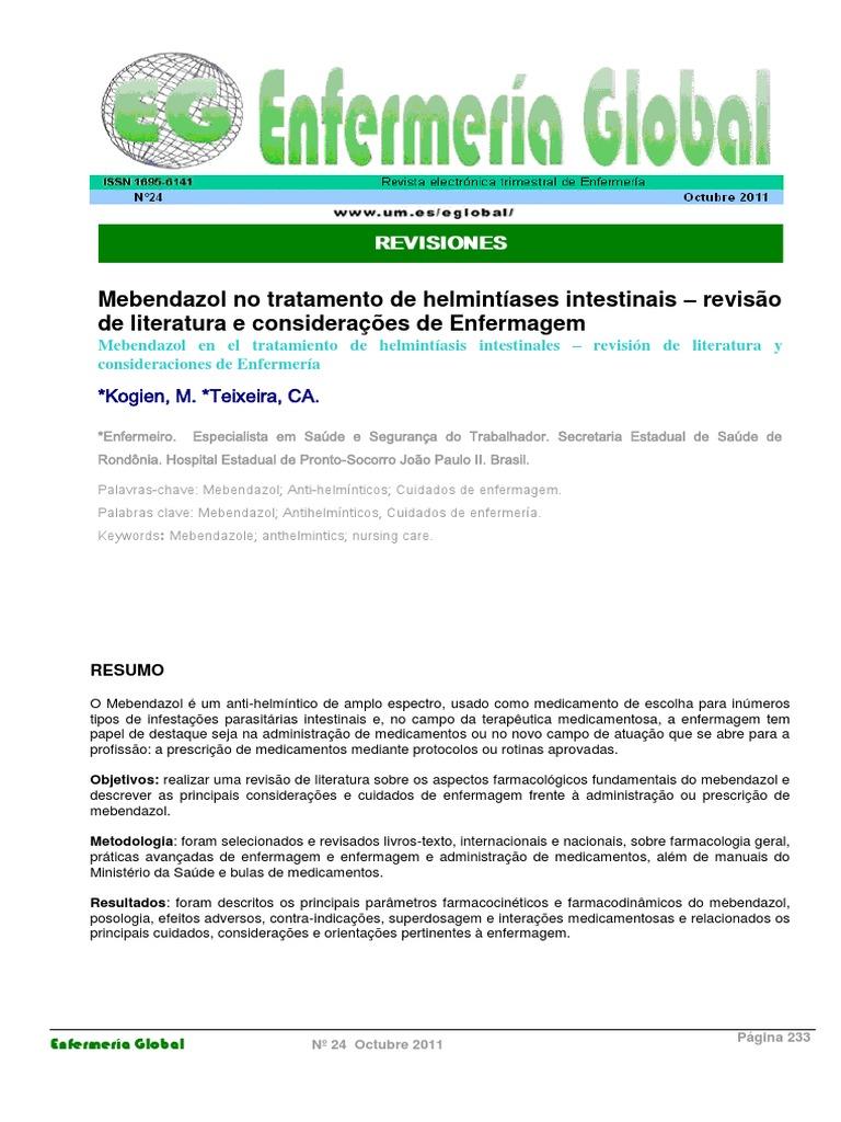 tratament cronic de helmintiază)