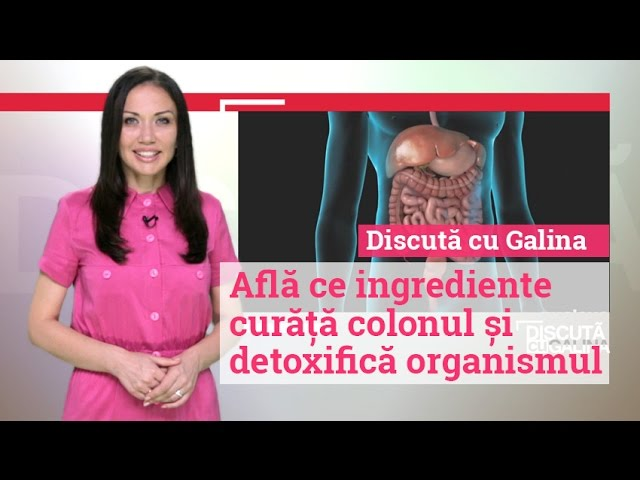 cum să dezintoxicăm colonul și ficatul