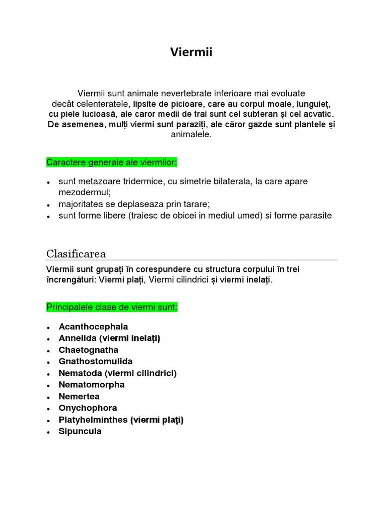 preparate parazite în corpul copilului)
