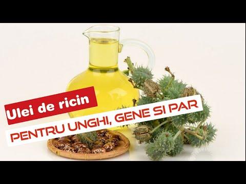 ulei de ricin pentru viermi