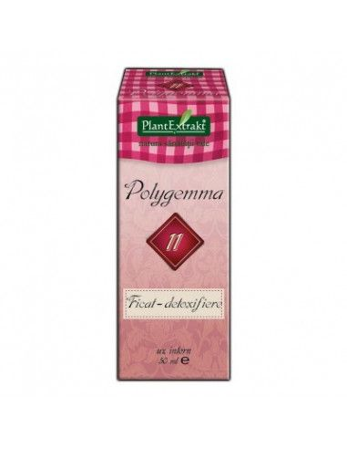 Plantextrakt Polygemma 11 ficat detoxifiere 50ml