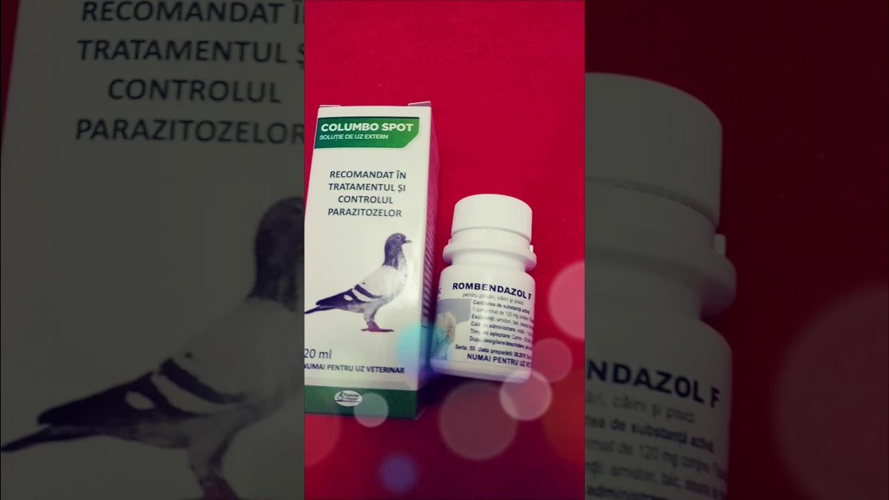 tratament cu paraziti cu spectru larg)