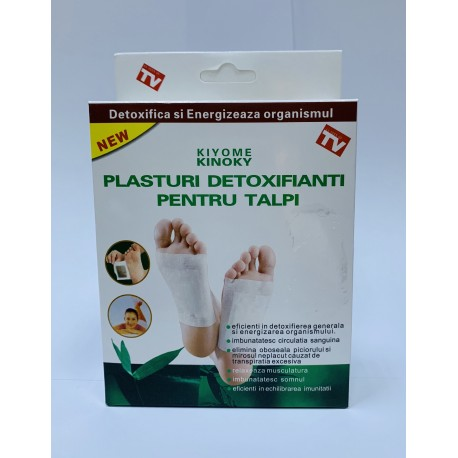 plasturi detoxifiere foot patch