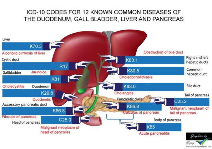 hepatic cancer icd 10