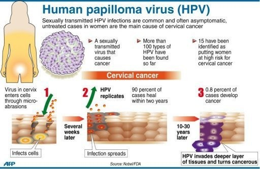 hpv become cancer cancer of genetic disorders