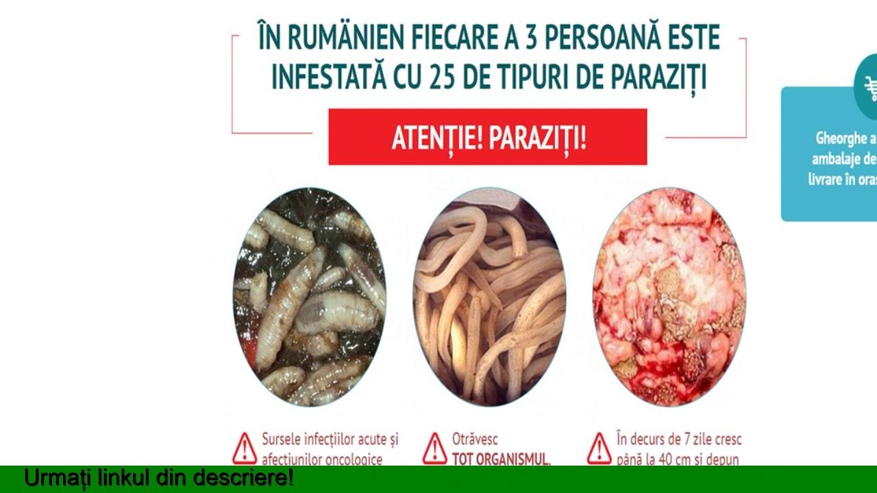complex de viermi pentru paraziți)