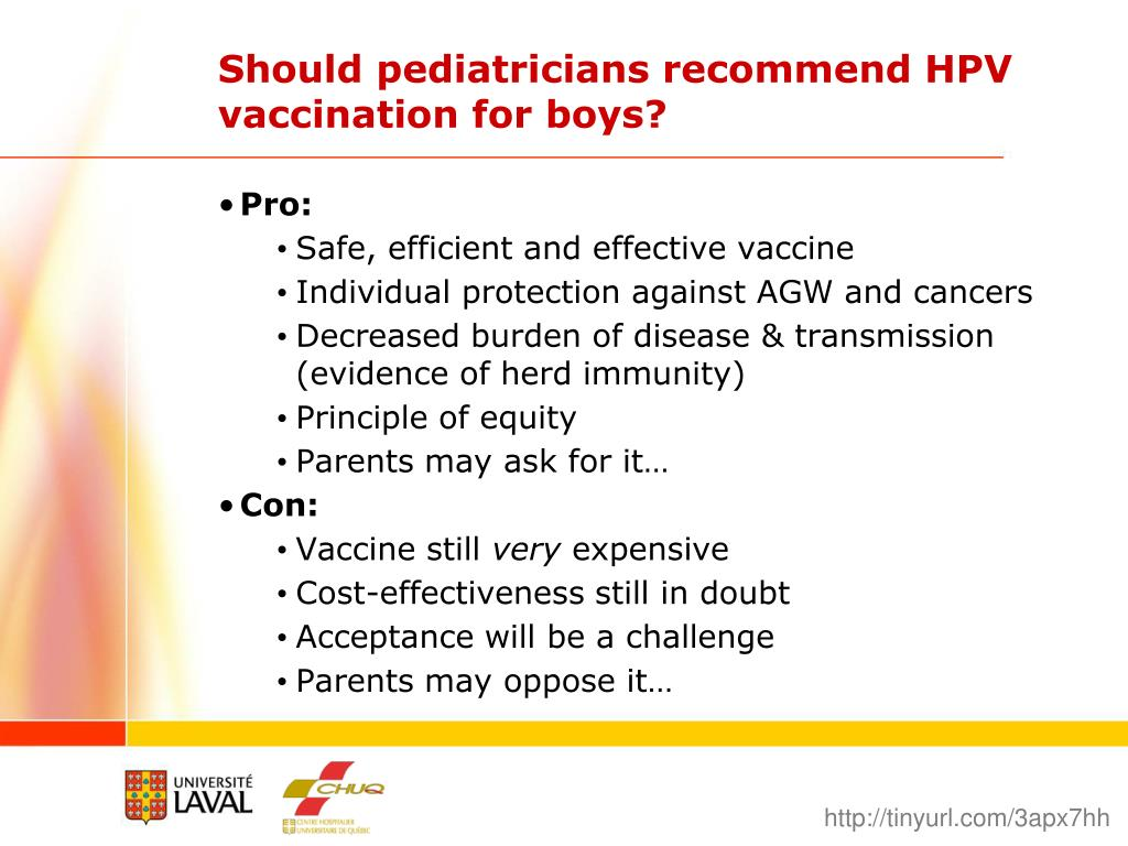 hpv virus vaccine pros and cons
