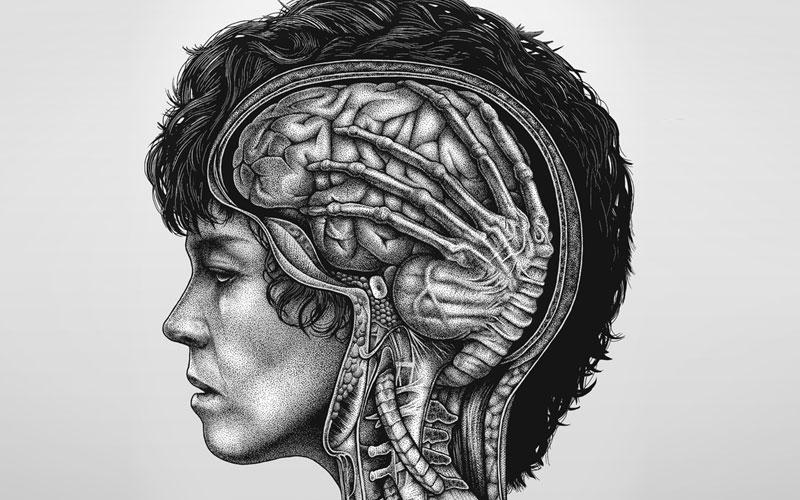 paraziți în creier