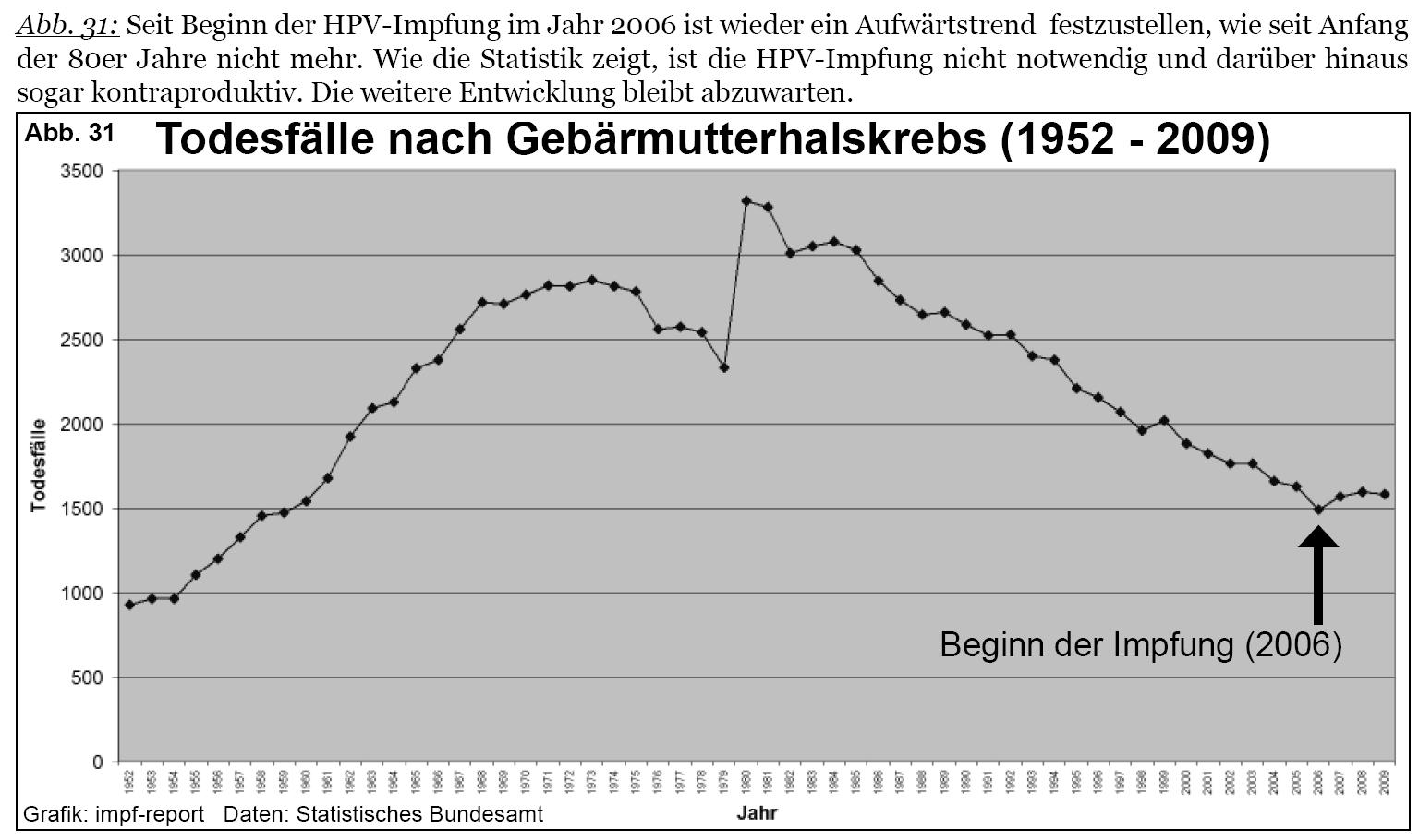 hpv impfung jungen risiken trec papiloamele