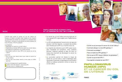 papillomavirus debut grossesse)