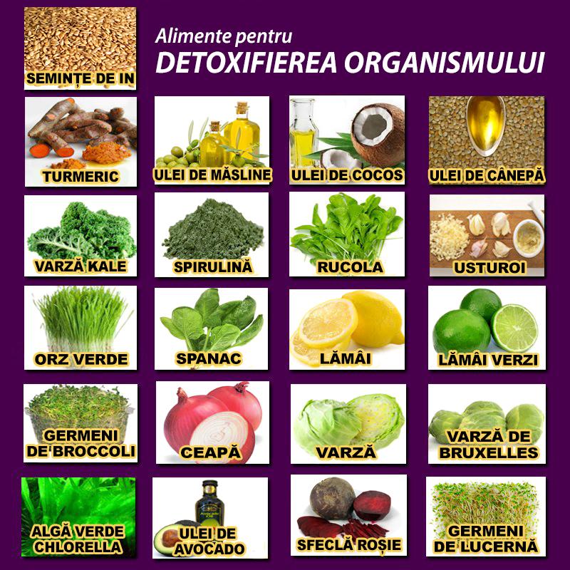 retete de detoxifiere a organismului