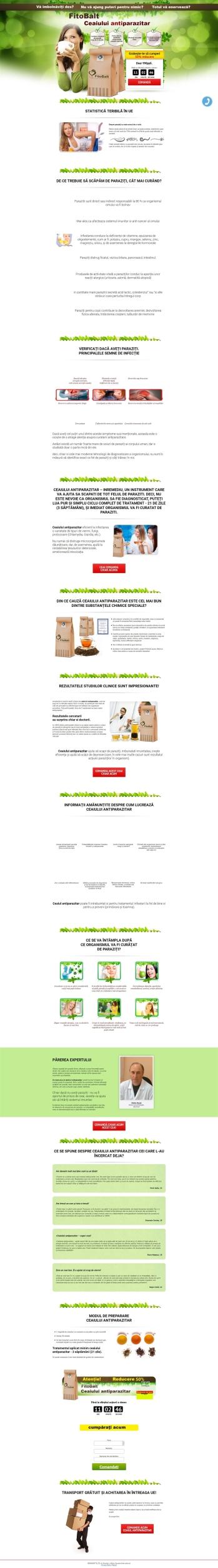 cronologie de tratament helmint