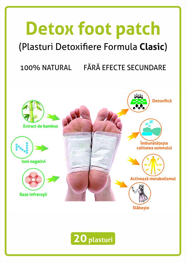 detoxifiere picioare acasa