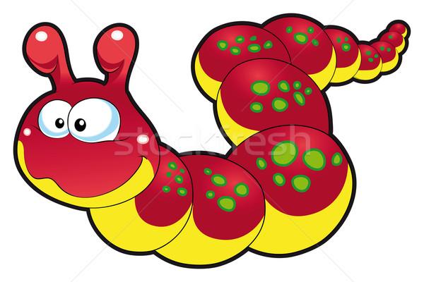 viermi în desene pentru copii