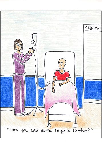 ovarian cancer jokes)