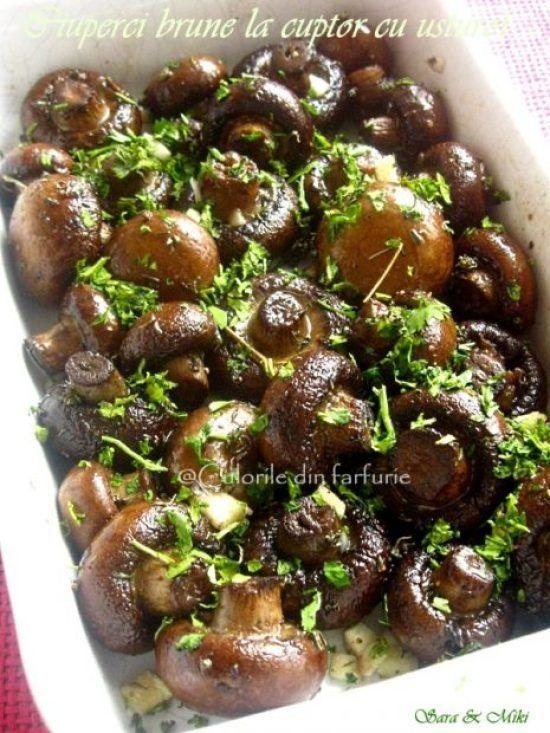 ciuperci brune la tigaie)