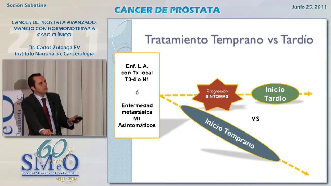 cancer de prostata hormonoterapia)