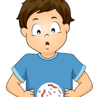 copilul are un vierme ce să facă)