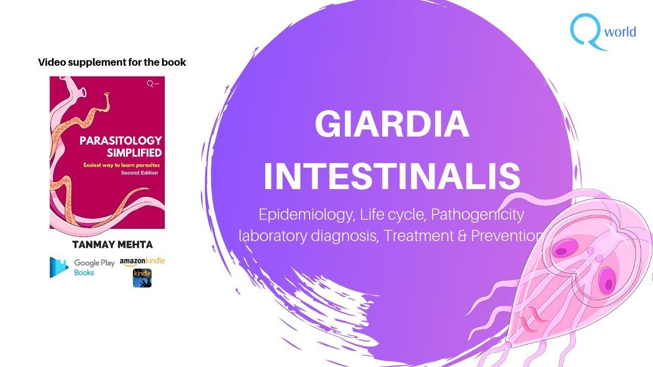 Giardioza: cauze, simptome si tratament Pentru a vindeca giardioza cronică