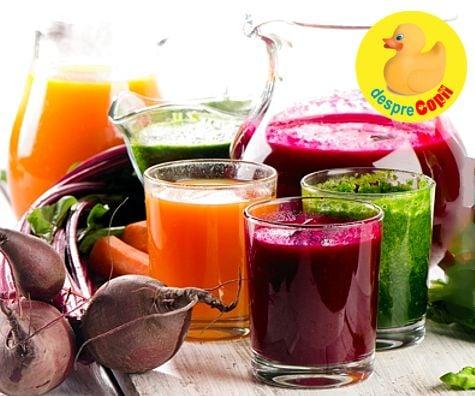detoxifiere cu sucuri pareri