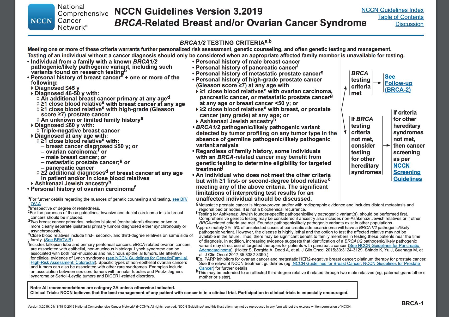 familial cancer risk assessment tool