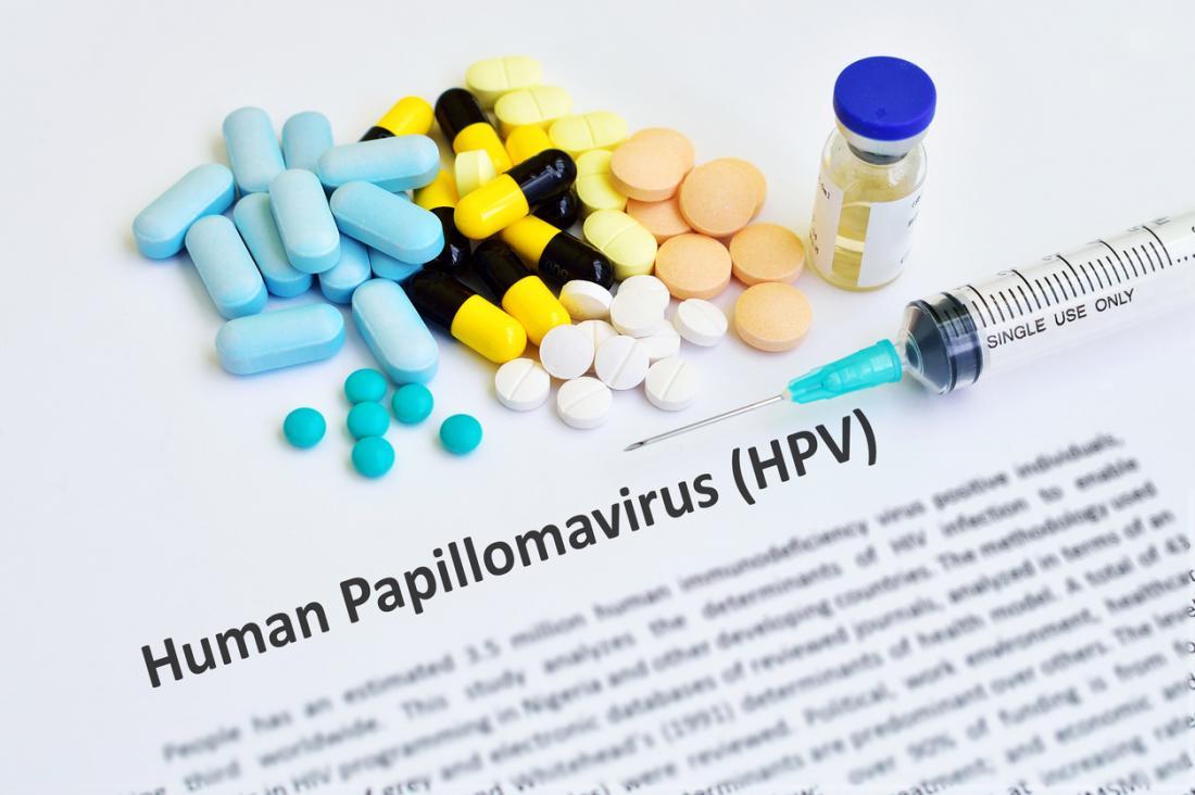 human papillomavirus with treatment)