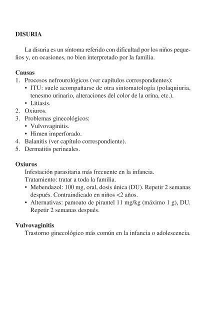 oxiuros tratamiento minsal)