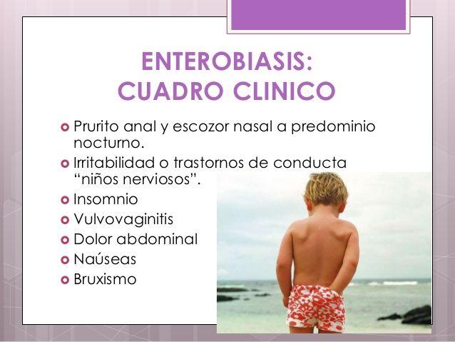 Enterobius vermicularis sintomas en ninos, Enterobius vermicularis (oxiurii)