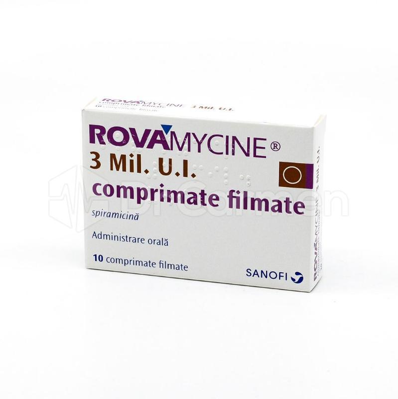 rovamicina pentru verucile genitale)