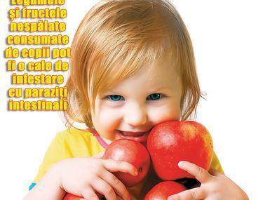 simptomele paraziților în tratamentul copiilor