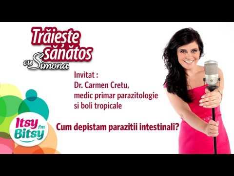 Viermii și paraziții intestinali