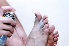 wart athlete s foot)
