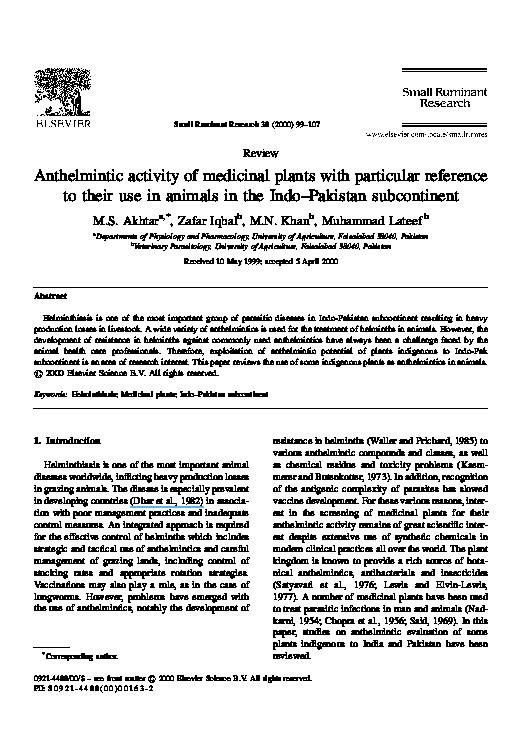 antihelmintic 1 5 y)