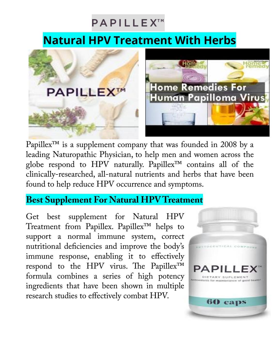 treatment of papilloma