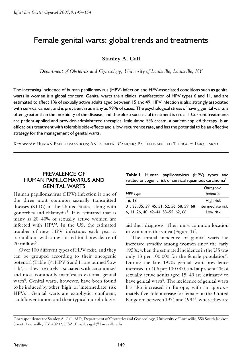 cid papiloma genital